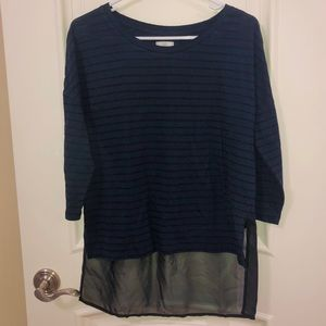 Charming Charlie Striped Blouse